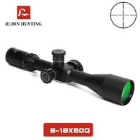 6 18X50 Tactical Riflescope Optic Long Eye Mil Dot Crosshair Rifle Outdoor Reticle Sight Scope With 11 20mm Rail Mount