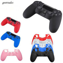 Useful Silicone Case Shell Soft Skin Accessories For PS4 Playstation 4 Controllers(China)