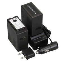 Marca new 2 pcs rechargerable bateria camera + carregador vw-vbg6 vw vbg6 vwvbg6 bateria recarregável da bateria da câmera para panasonic