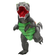 Special Halloween Adult T-rex Trex inflatable Dinosaur Costume for Women Men Animal Cosplay Party Fantasia clothing holiday