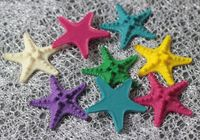HappyKiss wholesale inch 2 resin Starfish hot new home decoration Marine style wedding steamed bun starfish 5 cm