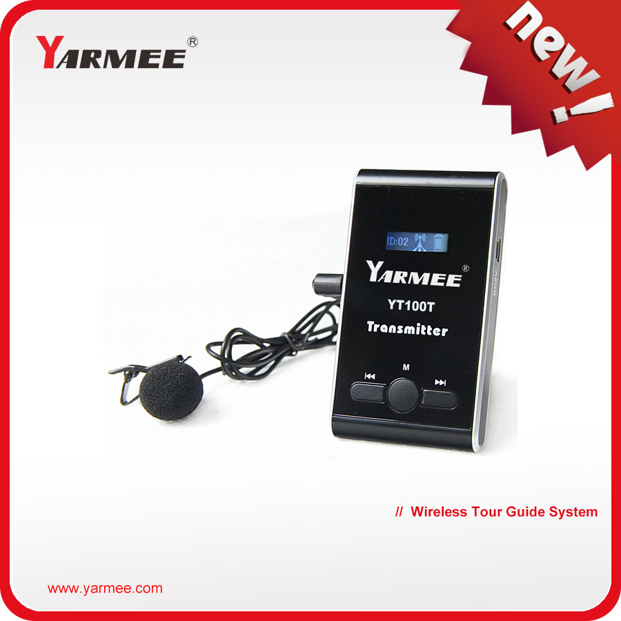 China Manufacturer Professional Tour Guide System For Translate Language , Tourist , International Conference YT100