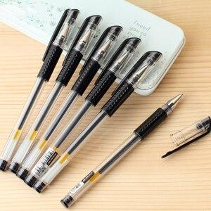Image 5 - Stylos Gel 100 pcs/lot SCM corée société créative papeterie Gel stylo mélange 0.35 0.38 0.5 stylos pour étudiant fournitures de papeterie