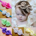 1 Piece Candy Colors Chiffon Baby Girls Headband Cute Bow Head Band for Kid Child Headwear Hair Accessories