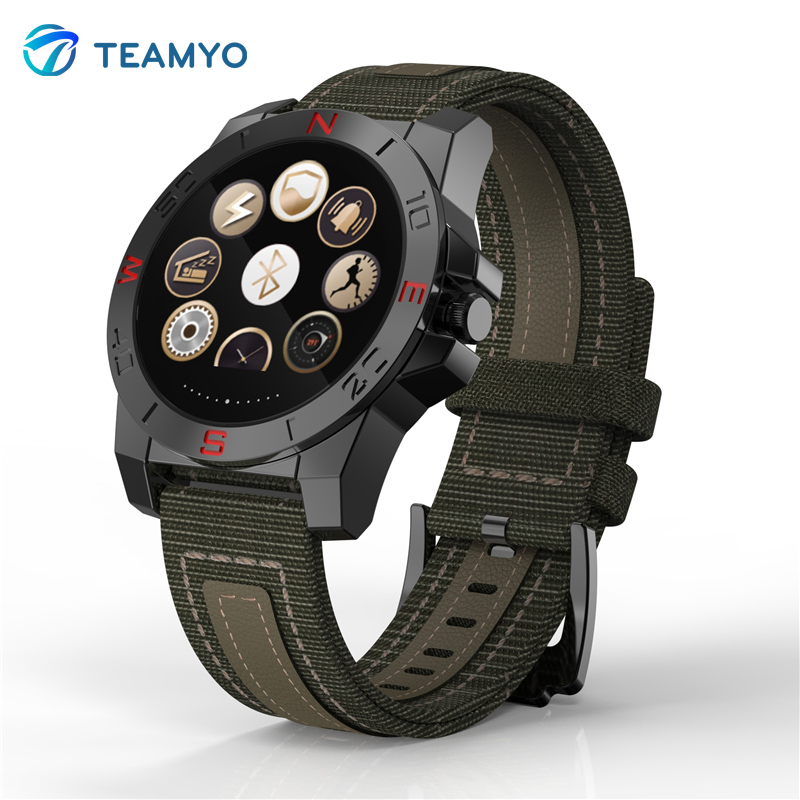 Luxury N10 Smart Watch Outdoor Sport Smartwatch With Heart Rate Monitor And Compass Waterproof Wach For iphone And Android
