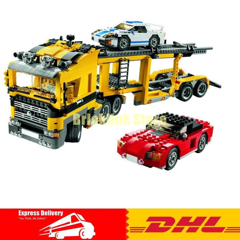 Фотография Lepin 24011 Technic Series 1344Pcs The Three in One Highway Transport Set Educational Building Blocks Brick Toys Model Gift 6753