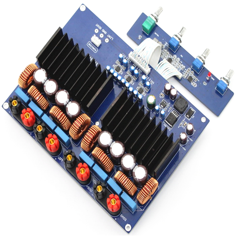 600w high-power TAS5630 2.1 600w (bass 300 + 150w + 150w) Stereo audio subwoofer car amplifier board tas5630 amplifier class d board high power finished boards mono 600w for subwoofer or full range diy free shipping