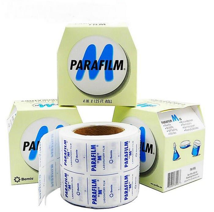 Бесплатная доставка PM-996 4INX125FT/Roll уплотнения фильм, парафильмом M лаборатории печать фильм