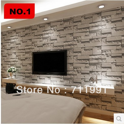 Free shipping stereo PVC imitation brick pattern wallpaper wallpaper background wallpaper bedroom living room TV wall free shipping celebrity poster marilyn monroe ktv background wall stereo high quality wallpaper living room bedroom custom mural