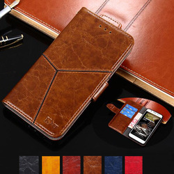 На Алиэкспресс купить чехол для смартфона yelun for vkworld s8 case hight quality luxury geometric patterns flip leather stand case for vkworld mix plus with card holder