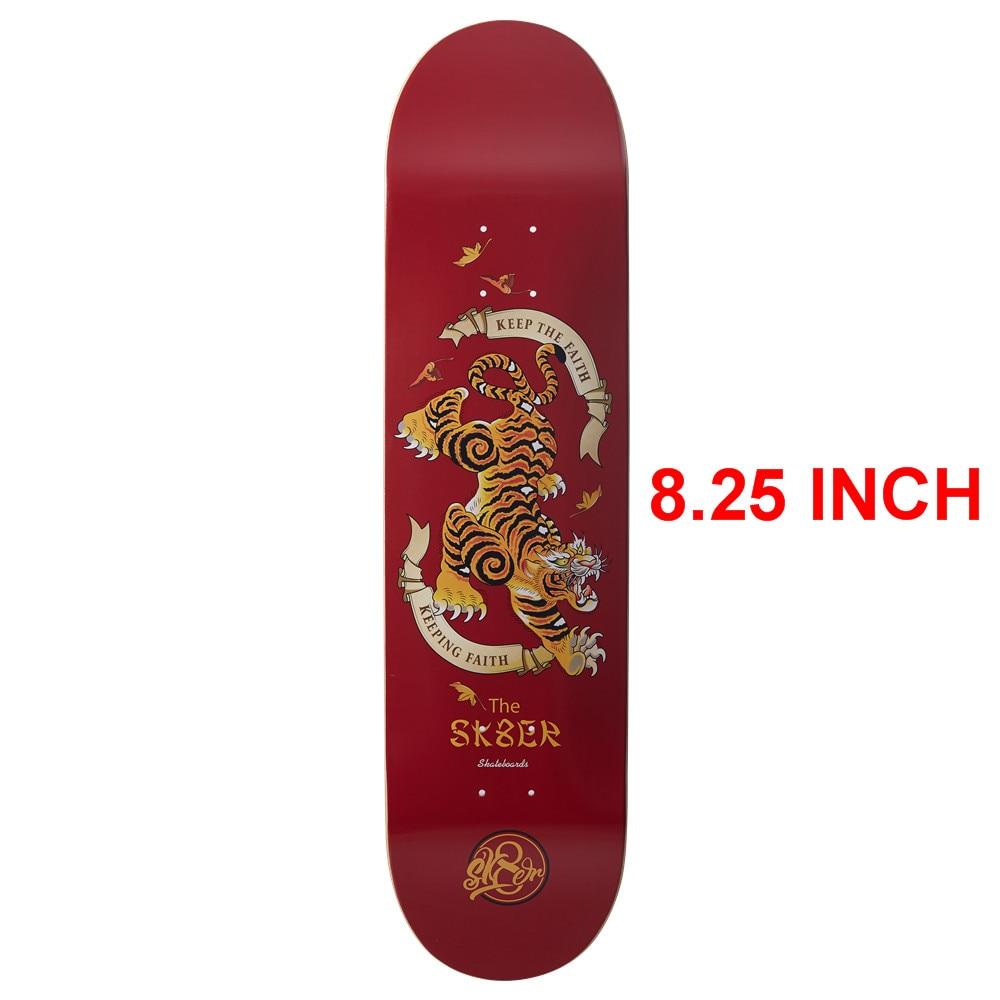 Image 4 - SK8ER Canadian Maple Skateboard Decks 8.25 inch Quality 8 Layers Canadian Maple Skate Deck For Skateboarding with 1 griptape-in Skate Board from Sports & Entertainment