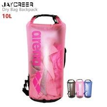 JayCreer 10L водонепроницаемый заплечный гермомешок плавающий водостойкий рюкзак для рыбалки, катания на лодках, каякинга, серфинга, рафтинга, кемпинга