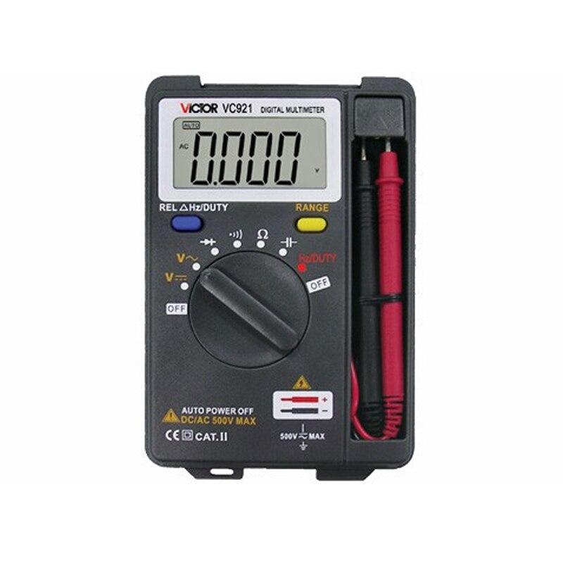 DMM Integrated Personal Handheld Pocket Mini Digital Multimeter VICTOR VC921 digital multimeter victor multimeter victorvictor vc921 - AliExpress