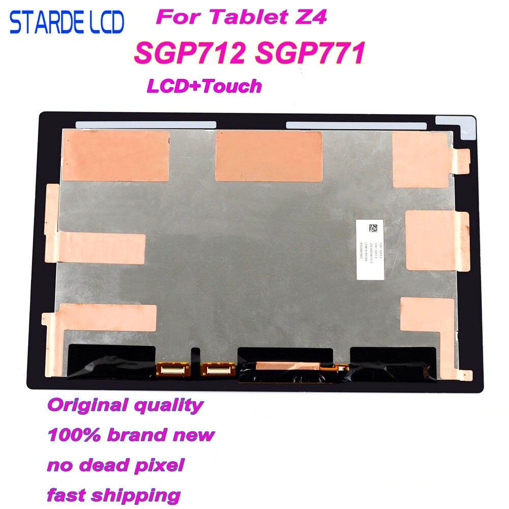 Starde LCD para Sony Xperia Tablet Z4 SGP712 Z4 SGP771 LCD Screen Display Toque Digitador Assembléia Display Lcd