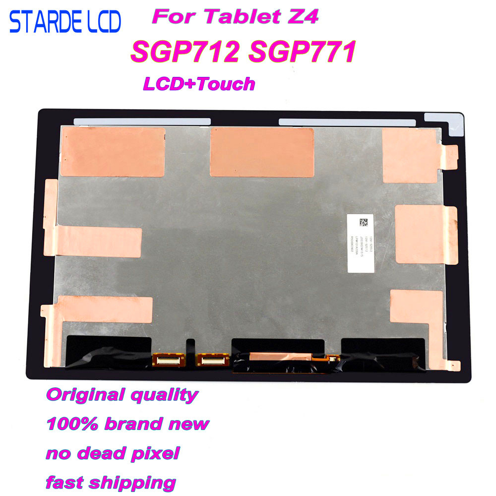Starde LCD for Sony Xperia Tablet Z4 SGP712 SGP771 LCD Display Touch Screen Digitizer Assembly Z4 Lcd Display