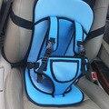 Crianças Proteção Do Carro 0-4 Anos de Idade Do Bebê Segurança Do Assento de Carro Infantil Portátil de Viagem Almofada anti Sistema de Escape Azul
