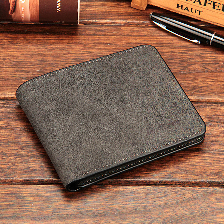 Baellerry 17 men wallets mens wallet small money purses Wallets New Design Dollar Price Male Wallet Purse with zipper Coin Bag 18