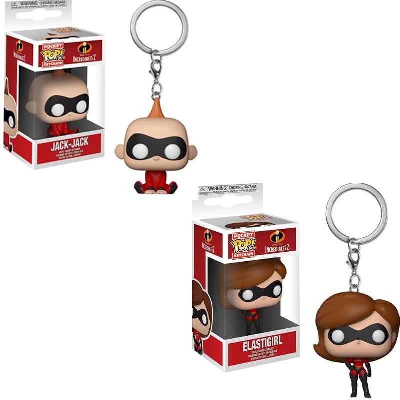 FUNKO-POP-The-Incredibles2-JACK-JACK-ELASTIGIRL-PVC-Action-Figure-Collectible-Model-toys-for-children