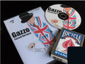 Gazzo Tossed Out Deck with Deck (Gimmick+DVD),stage magic tricks,mentalism,street,comedy,mental magic,free shipping