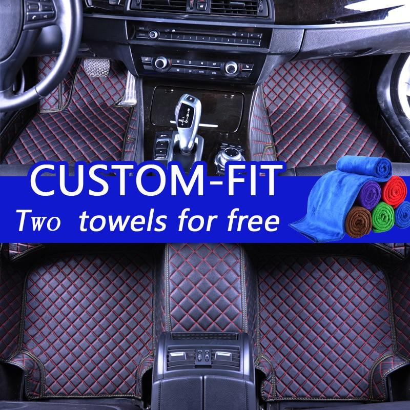 Alfombrillas personalizadas para Toyota Land Cruiser 200 Prado 150 - Accesorios de interior de coche - foto 6