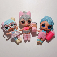 Hot Sale Unpackin Kicsomagolás Kiváló minőségű babák Baby Tear Nyílt színben Change Egg Doll in ball Action Figure Játékok Kids Gift