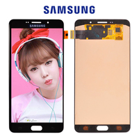 ORIGINAL 6 0 AMOLED For SAMSUNG Galaxy A9 A9000 LCD Screen Display Touch Digitizer Assembly Replacement