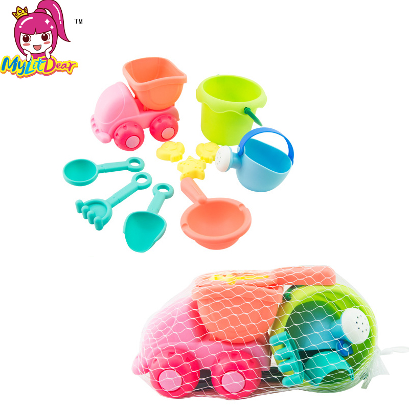 High Quality Kawaii Soft Bucket Shovels Cars Tools Baby Children Bath Beach Sands Educational Toys for kids girls boys Outdoor