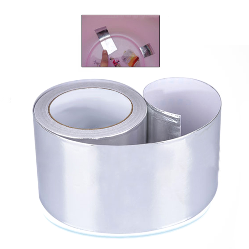 Hot High Temperature Resistant Heat Insulation Sealing Waterproof Fireproof Aluminum Foil Tape Thermal Resist Duct Repairs Tools