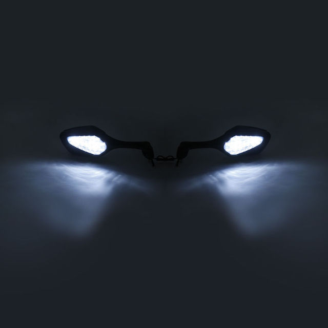 Motorcycle Rear View Mirrors W/ LED Turn Signal For Honda CBR1000RR CBR 1000 RR 2008-2012 View Mirror with Turn Signal light