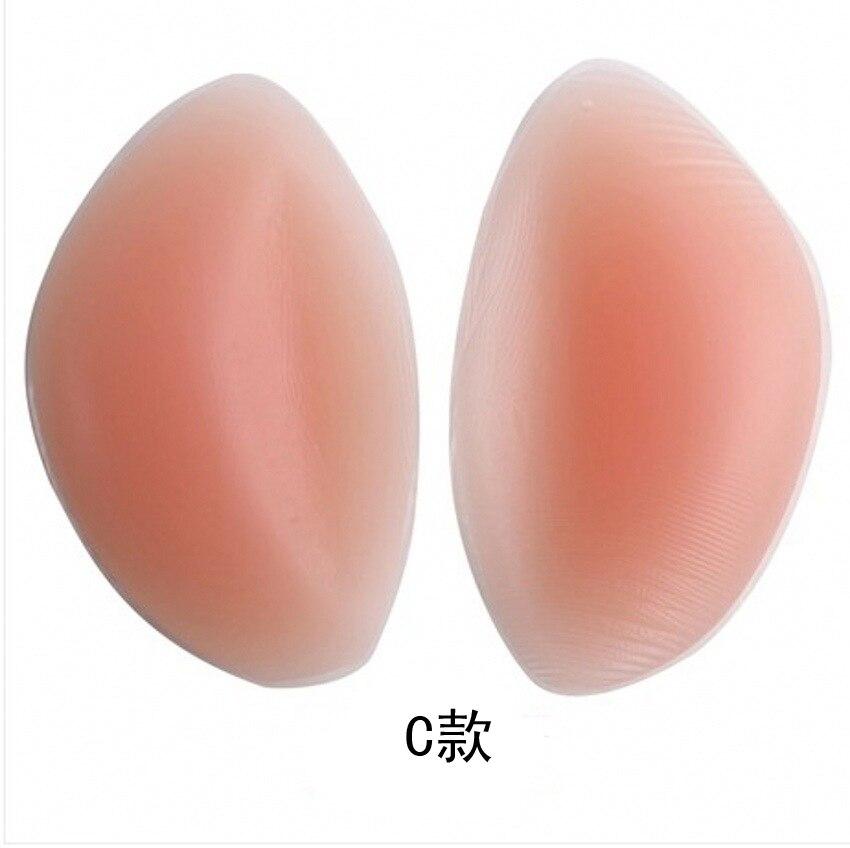 1Pair Soutien Gorge Silicone Gel Bra Insert Pads Breast Enhancer Push Up Bra Pad Women Bikini Swimwear Invisible Sticky Bra Pads 7