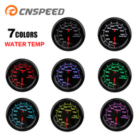 CNSPEED2 52mm AutoWater Temperature Meter Colorful High speed Stepper Motor 40 140 Degrees Celsius with Sensor 12V Car YC101375