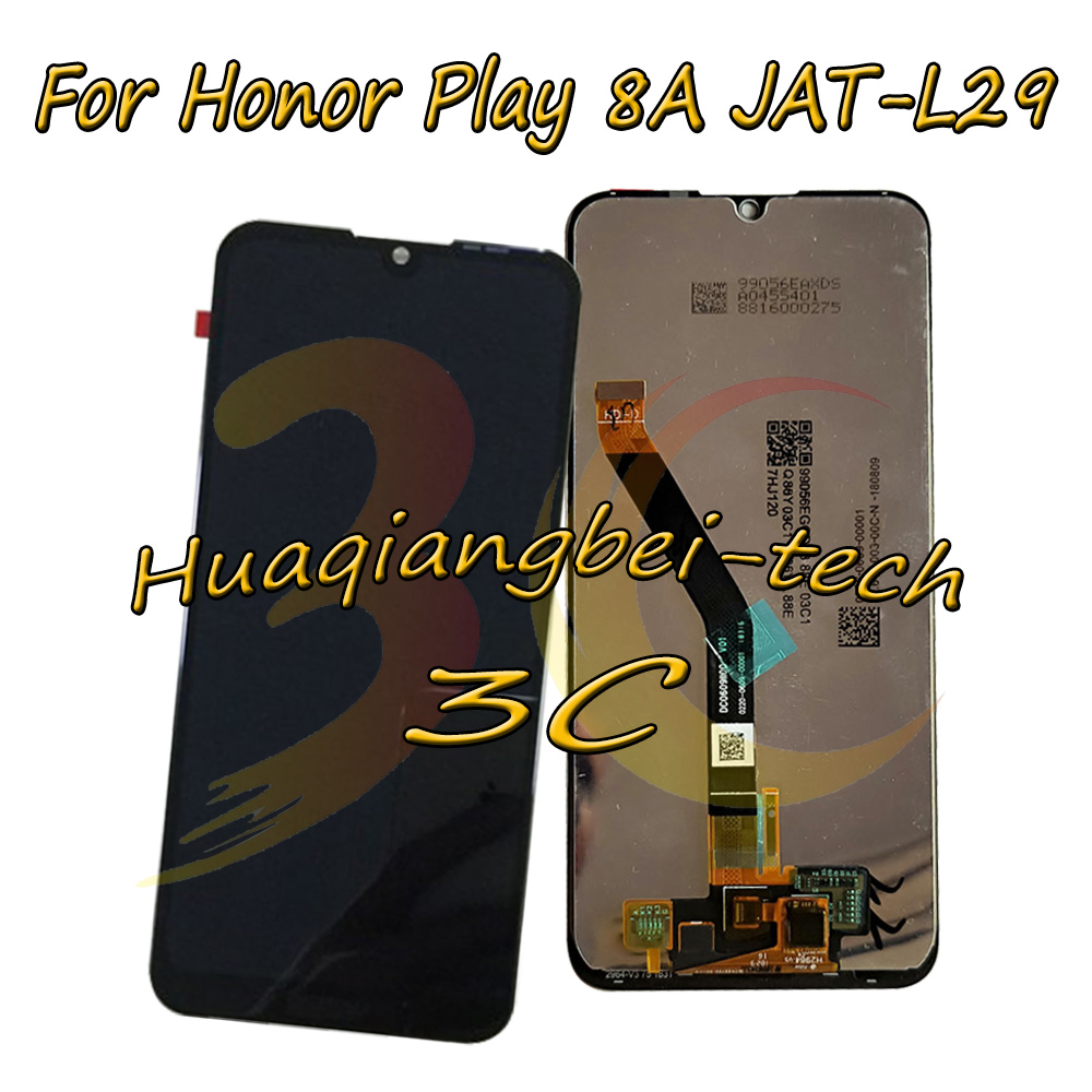 6.09 New For Huawei Honor 8A JAT-L29 Full LCD DIsplay + Touch Screen Digitizer Assembly With Frame For Huawei Honor Play 8A6.09 New For Huawei Honor 8A JAT-L29 Full LCD DIsplay + Touch Screen Digitizer Assembly With Frame For Huawei Honor Play 8A