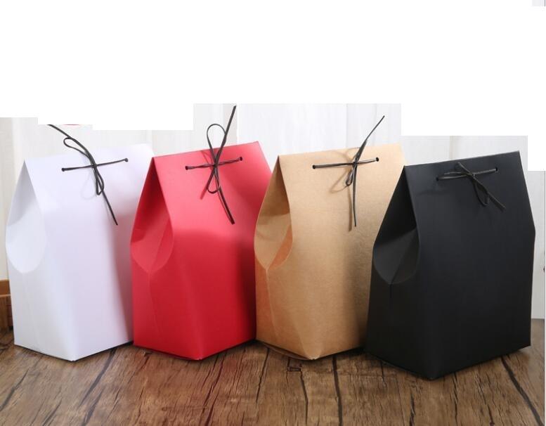 qin1230 stand up style gift box box retail kraft - Stand Up Jewelry Box