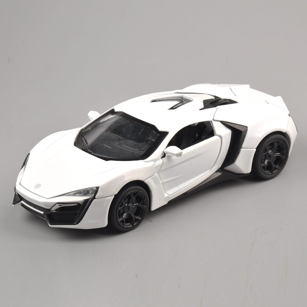 Collectible Model Car Toys 1/32 Scale Alloy Lykan