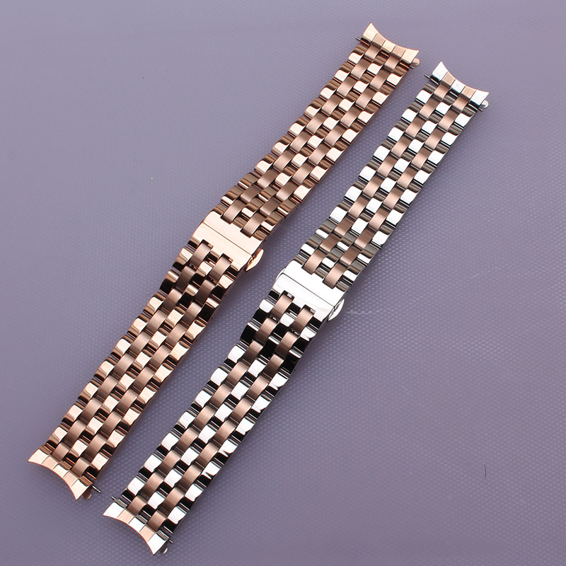 Good quality watchbands bracelet 16mm 18mm 20mm 22mm 24mm fashion watchband strap watches accesserios stainless steel curved end watchbands 20mm 23mm high quality rubber watchband diamond watch fit ar5890 ar5905 ar5919 ar5920 watches bracelet