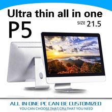 XCY P5 Все в одном pc HD4400 WIN7/XP/2003 Ubuntu I5-4200Y 4 г ram и 500 г hdd Мышь и клавиатура gaming pc ABS или Алюминиевого сплава