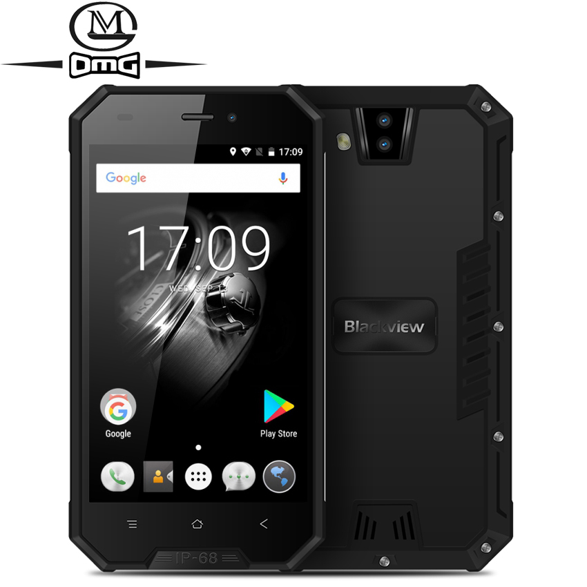 "Blackview BV4000 Pro IP68 Waterproof shockproof Mobile Phone 3680mAh 8MP Dual Cameras 4.7"" HD IPS 2GB+16GB Quad Core Smatphone"