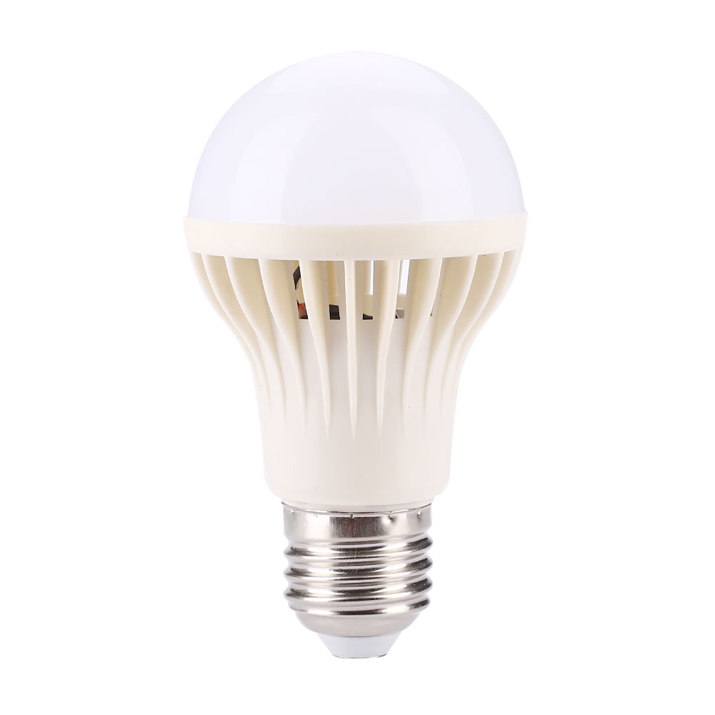 Auto PIR Motion Detection LED Bulb Sound Sensor E27 5W SMD 5730 Cool White