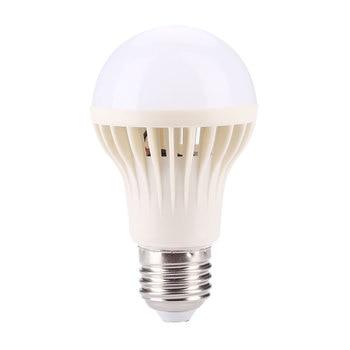 Auto PIR Motion Detection LED Bulb Sound Sensor E27 5W SMD 5730 Cool White