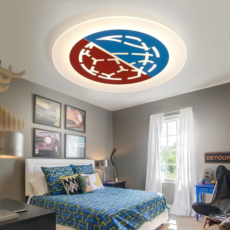 90~260V led ceiling lights Modern for Children room kids room ceiling lamp acrylic light fixtures lamparas de techo plafonnier