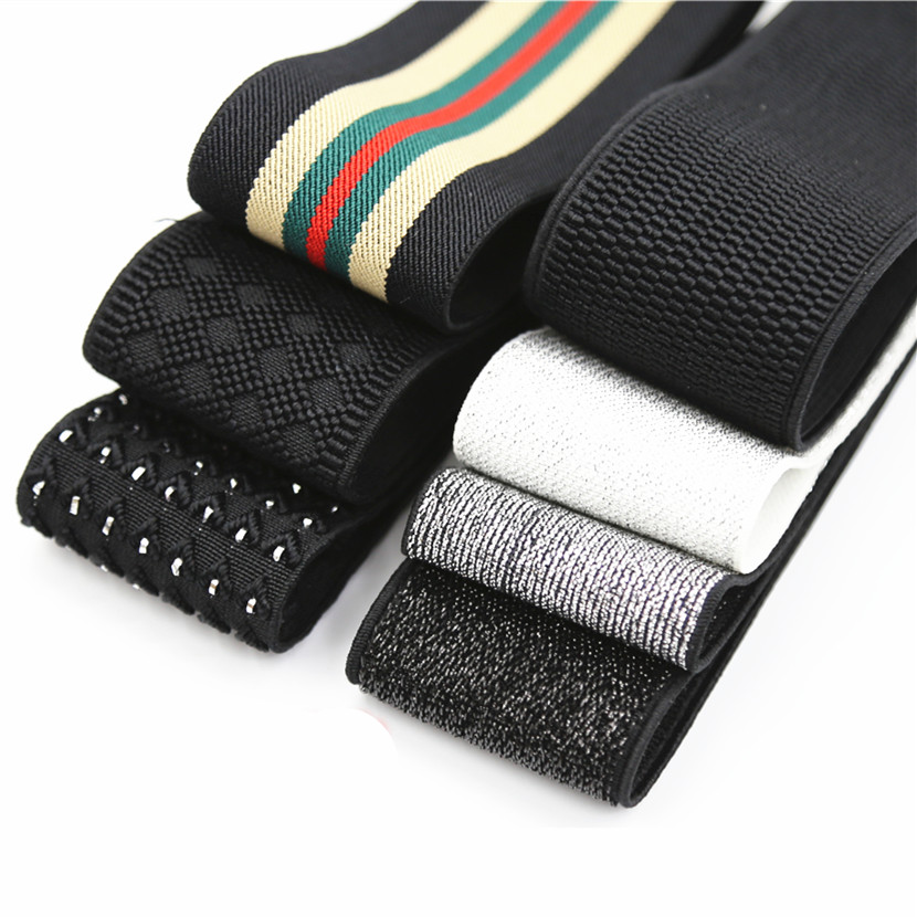 US $1.99 20% OFF|5 cm Wide  Grain Trousers Elastic Ribbon Waistband Thickening Latex Webbing Elastic Band Bags' Sewing Cloth|Elastic Bands| |  - AliExpress