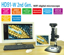 5MP HD Wireless WIFI Digital microscope USB Video camera Electronic Eyepiece electron microscope for monocular stereo microscope цена в Москве и Питере