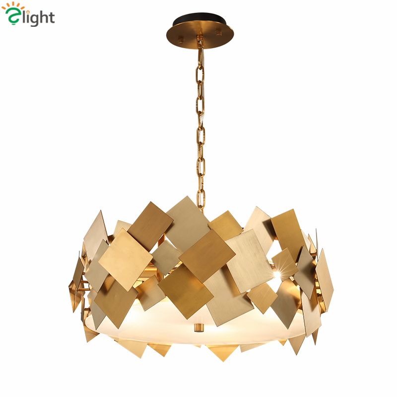 Nordique moderne Lustre Luminarie Led E14 Suspension en acier rotatif Suspension lampe chaîne pendentif acrylique masque Led Suspension lampe