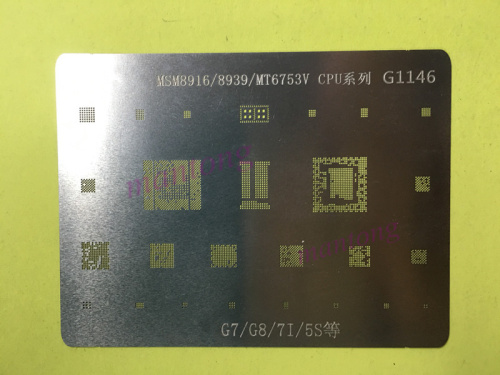 2 pcs-10 pcs BGA rebillage reball pochoir pour huawei G7 G8 7I 5S MSM8916/MSM8939/MT6753V /CPU PM8916 MT6169