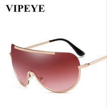 fece39733d0 Personality Women Sunglasses Oval Fashion Female Men Retro Reflective  Mirror Sunglasses Clear Color Famous Brand Designer Oculos