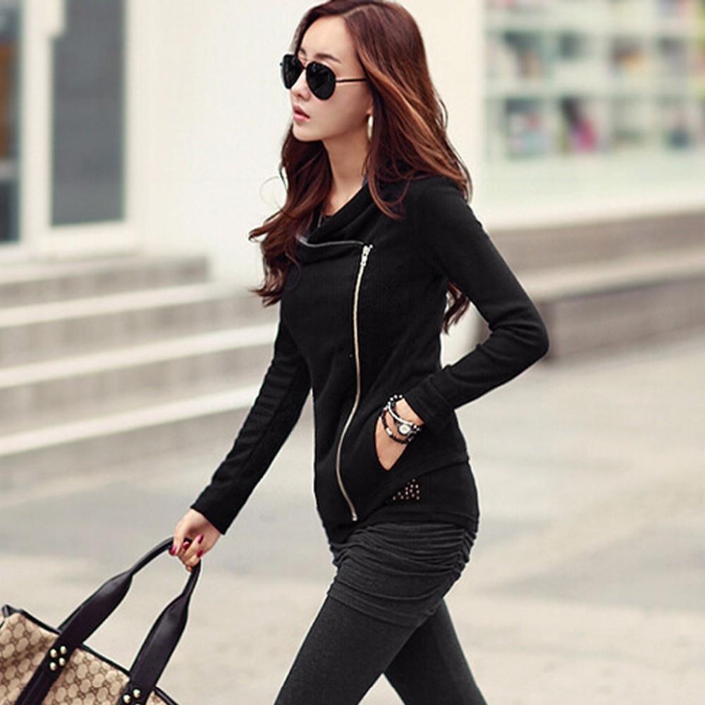 Must või hall õhuke jakk