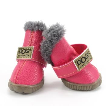 Pet Dog Shoes Winter Super Warm Dog Shoes