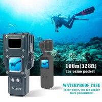 Mcoplus 100m/328ft Underwater Diving Waterproof camera Housing Case for DJI OSMO Pocket 3 Axis Handheld Gimbal Stabilizer Camera