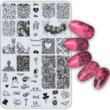 14 5x9 5cm Rectangle Nail Stamping