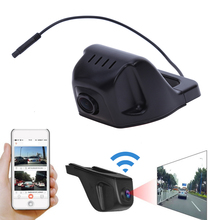 High Definition 1080P 170 Degree Wifi Car DVR Camera Digital Video Recorder Dash Cam App Control Night Vision 7 Layer Glass Lens